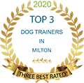 Milton Dog Trainer Accolade